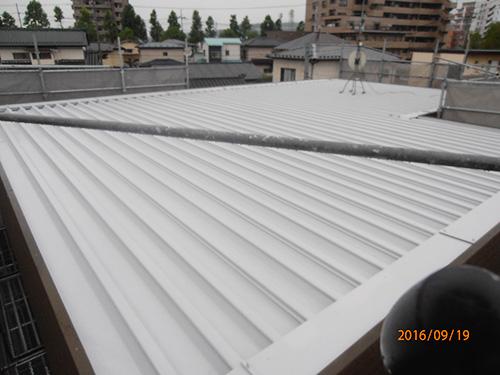 セキスイ屋根塗装工事