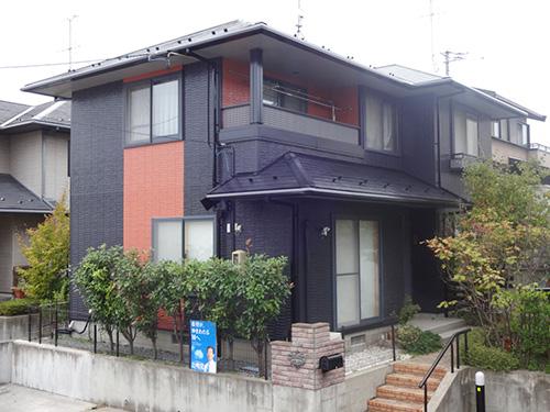 福島県郡山市M様邸 屋根・外壁塗装工事