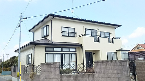 宮城県東松島市 外壁塗装&屋根塗装  W様邸の声 屋根・外壁工事