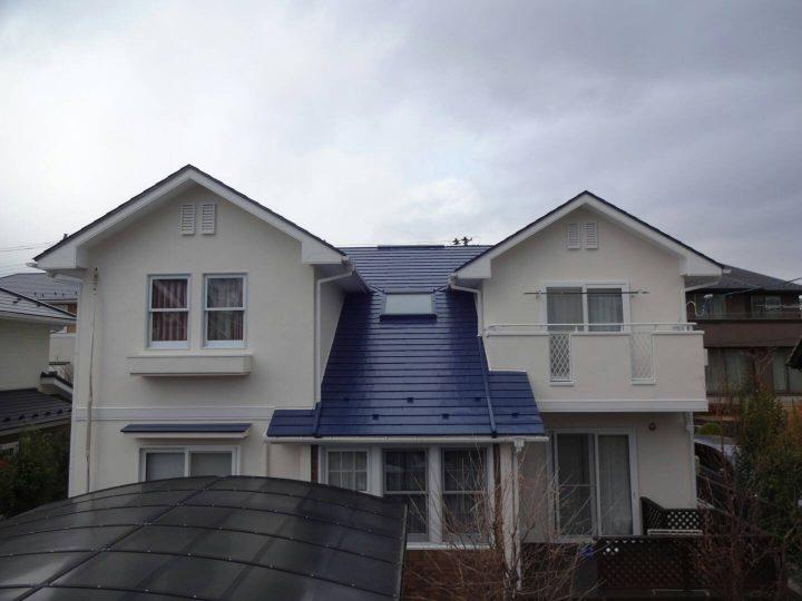 宮城県仙台市 K様邸 屋根塗装・外壁塗装