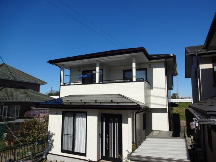 仙台市で屋根と外壁の塗装をしました。