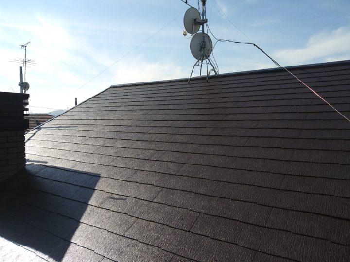 屋根の仕上がりです