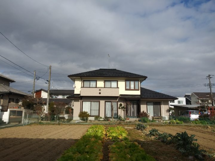 宮城県岩沼市で屋根と外壁の塗装をしました。