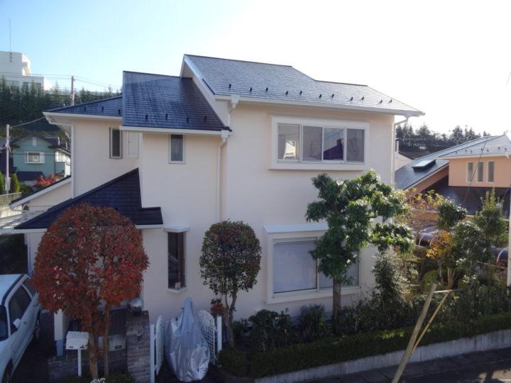 宮城県宮城郡利府町 外壁塗装&屋根塗装 K様邸の声 屋根・外壁工事