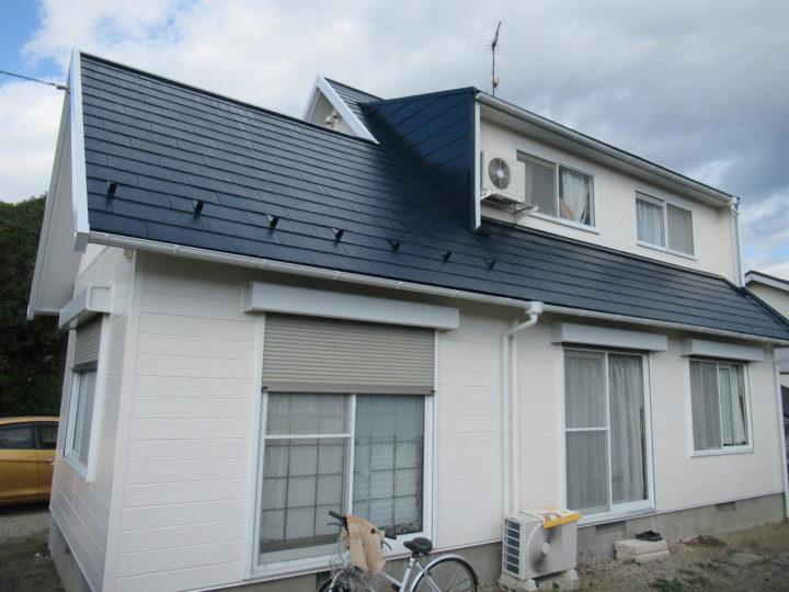 柴田町で屋根と外壁の塗装工事をしました。