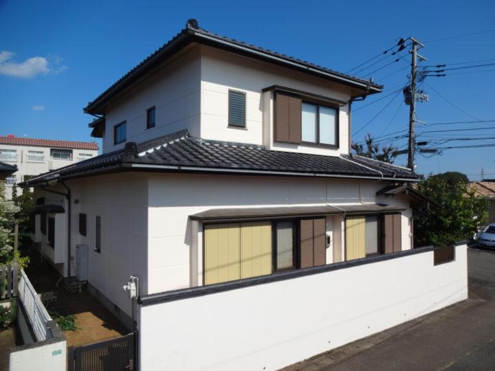 宮城県仙台市太白区で外壁の塗装工事をしました