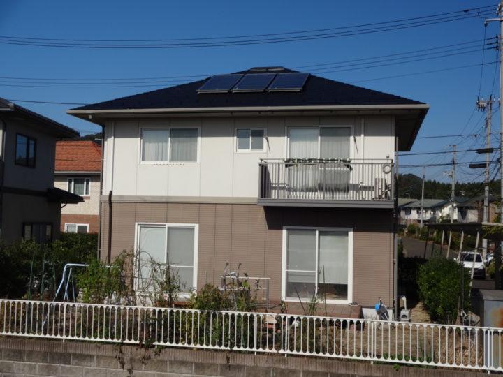 宮城県名取市で屋根塗装をしました。