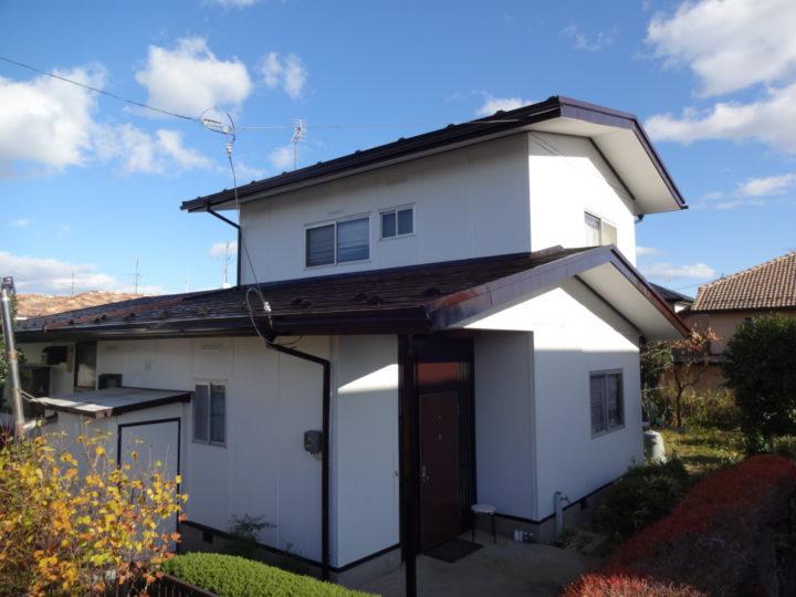 仙台市太白区で屋根と外壁の塗装工事をしました