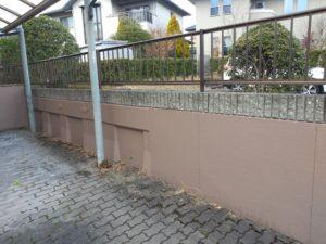 外塀の塗装