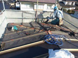 岩沼市屋根重ね葺き