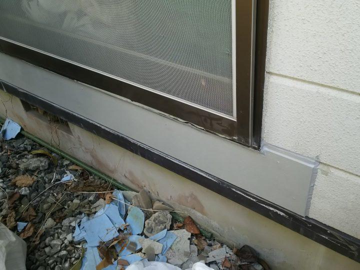 宮城県名取市で外壁補修工事しました。