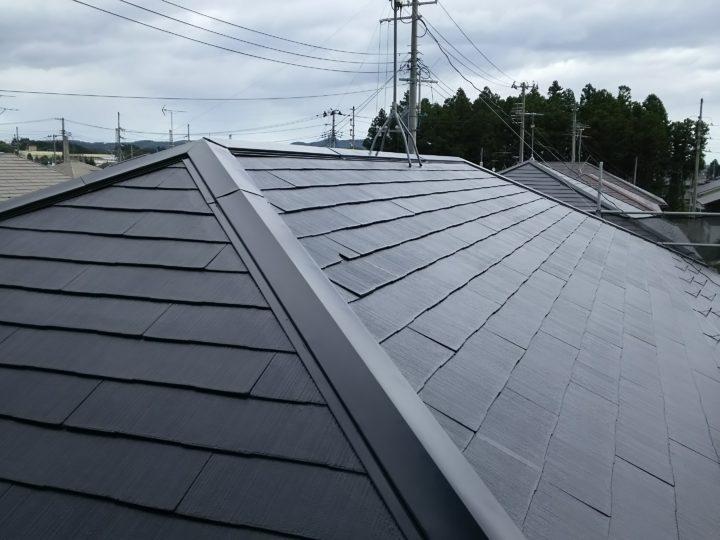 仙台市青葉区の屋根塗装!?屋根が真っ白になっちゃった!