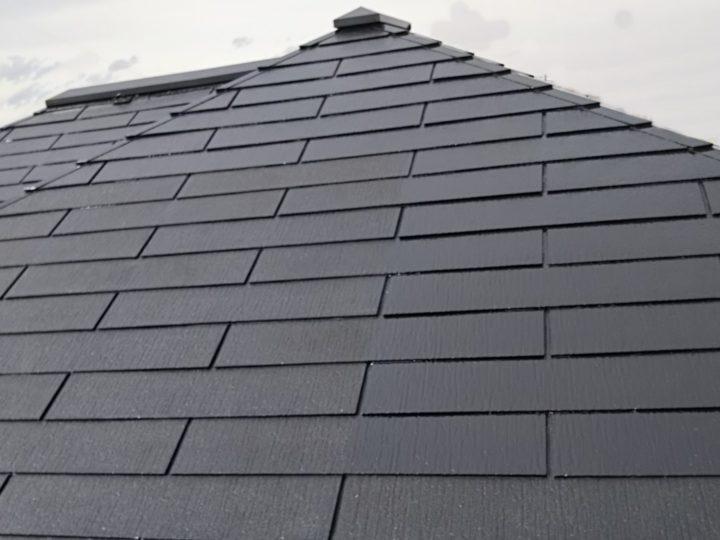 宮城県亘理町で屋根の塗装工事をしました。