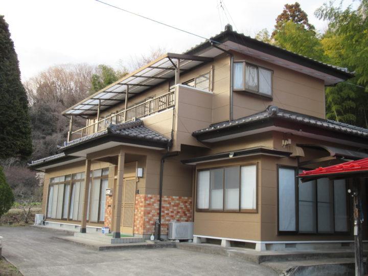 柴田郡柴田町で外壁の塗装工事をしました。