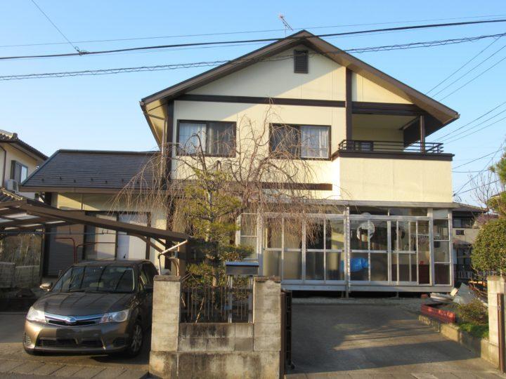 柴田郡柴田町で屋根と外壁の塗装工事をしました。