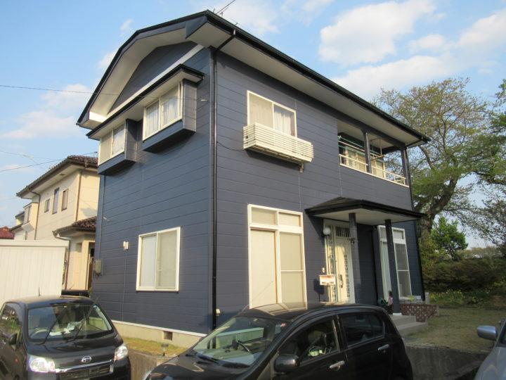 柴田郡大河原町で屋根・外壁工事をしました。