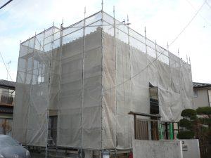 亘理郡外壁塗装 (2)