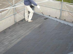 名取市屋根洗浄