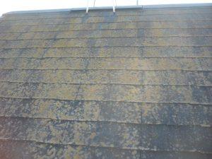 名取市屋根高圧洗浄