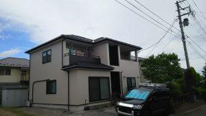 名取市屋根外壁塗装
