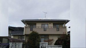 柴田郡外壁塗装着工前