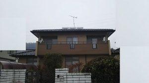柴田郡外壁塗装完了