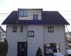 柴田郡屋根外壁塗装着工前