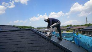 名取市屋根塗装