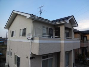 岩沼市屋根外壁塗装