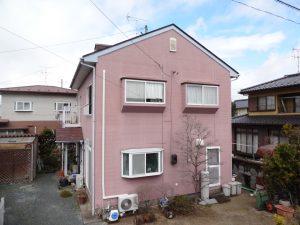 角田市屋根外壁塗装
